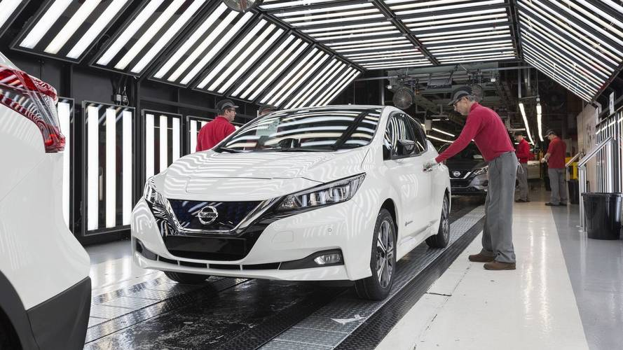 Nissan Leaf Production Starts In Europe