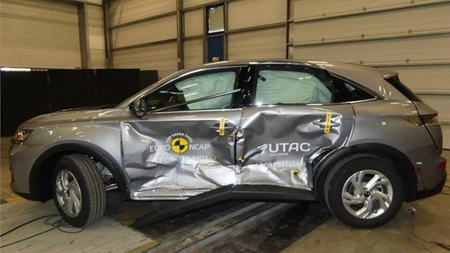 DS 7 Crossback crash-test