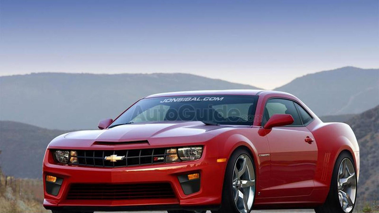 2012 Chevrolet Camaro Z28 artists rendering