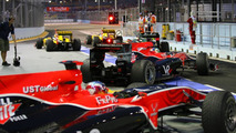 Lucas di Grassi (BRA), Virgin Racing - Formula 1 World Championship, Rd 15, Singapore Grand Prix, 25.09.2010
