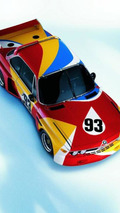 Alexander Calder (USA) 1975 BMW 3.0 CSL art car