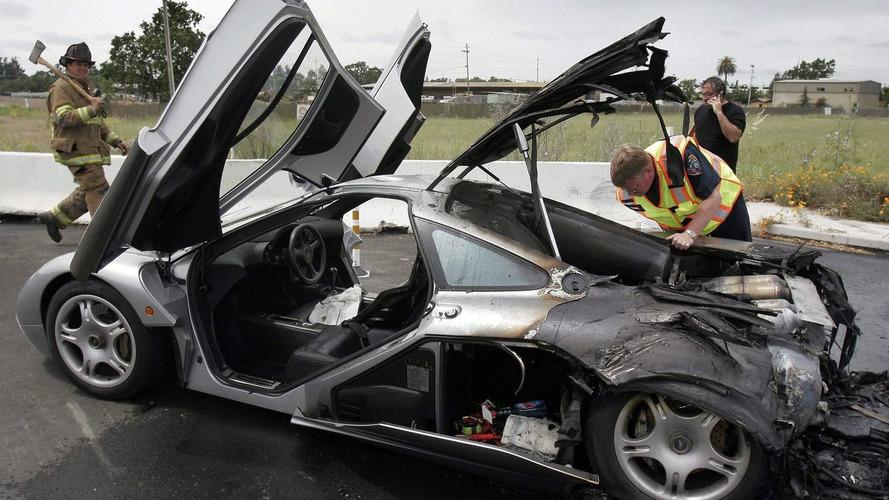 $2 million McLaren F1 spontaneously combusts