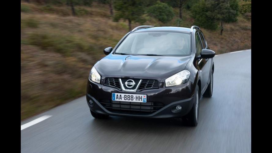 Nissan Qashqai, raggiunto il primo milione