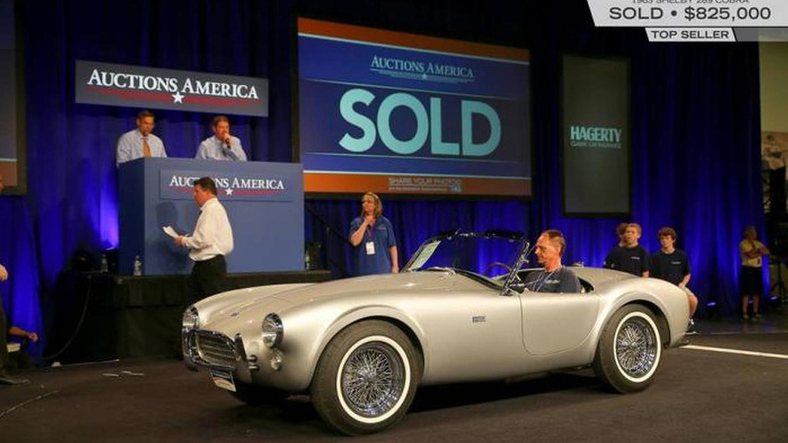 Record over $21 million sales for Auctions America in Fort Lauderdale