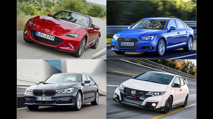 World Car of the Year 2016 – Die Gewinner