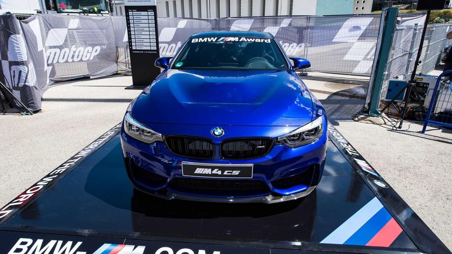 MotoGP'nin sıralama şampiyonu bu BMW M4 CS'i kazanacak