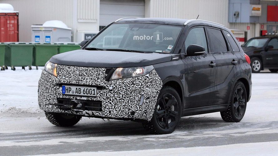 Suzuki Vitara facelift spied