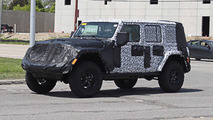 Jeep Wrangler 2018 (fotos espía interior)