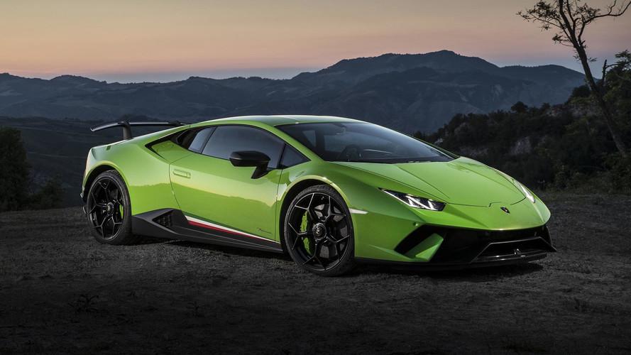 Lamborghini Huracan Performante 2017 primera prueba