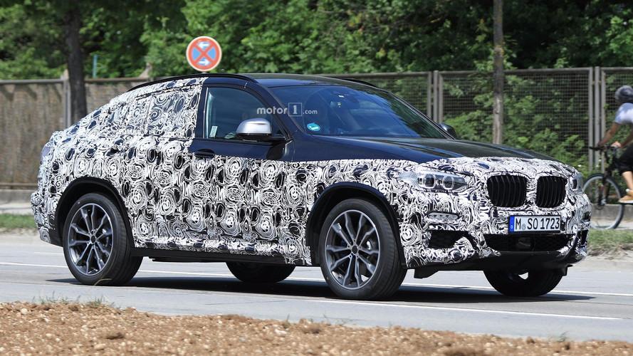 Yeni BMW X4'ün M40i versiyonu görüntülendi