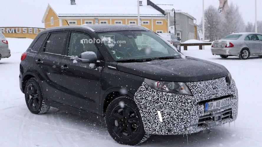 Photos espion du Suzuki Vitara restylé 2018
