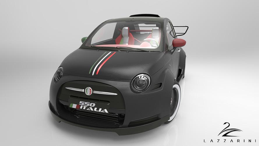 Avez-vous déjà vu ? Une Fiat 500 avec un moteur Ferrari de 550 chevaux ?