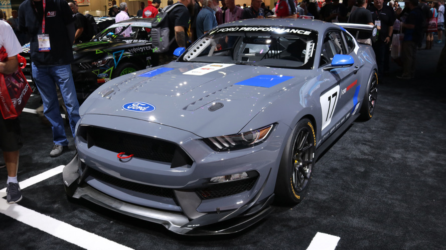SEMA Show 2016 - Ford dévoile la Mustang GT4 !
