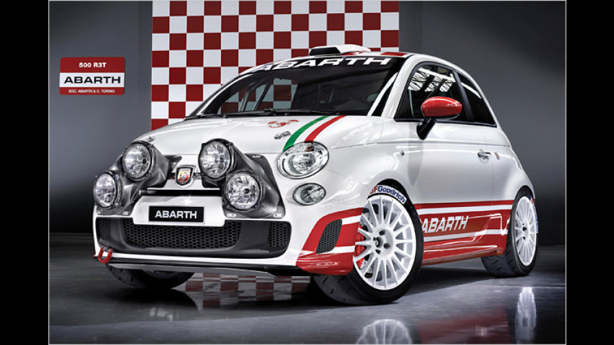 Abarth 500 R3T: Federleichte Rallyeversion mit 180 Turbo-PS