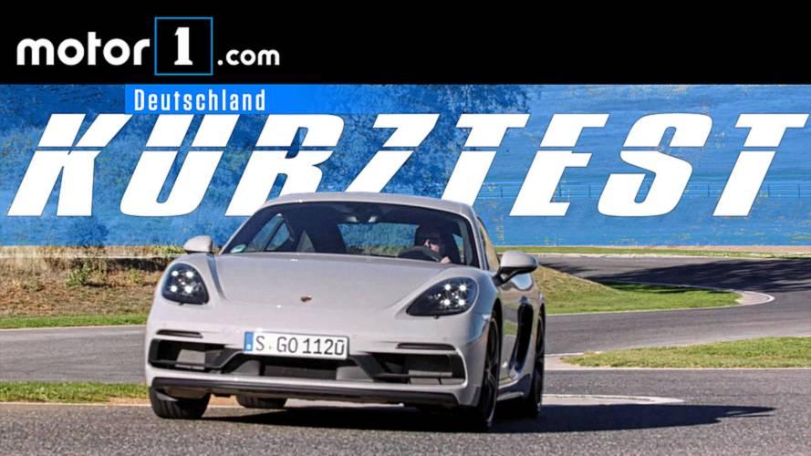 Porsche 718 Cayman GTS | KURZTEST