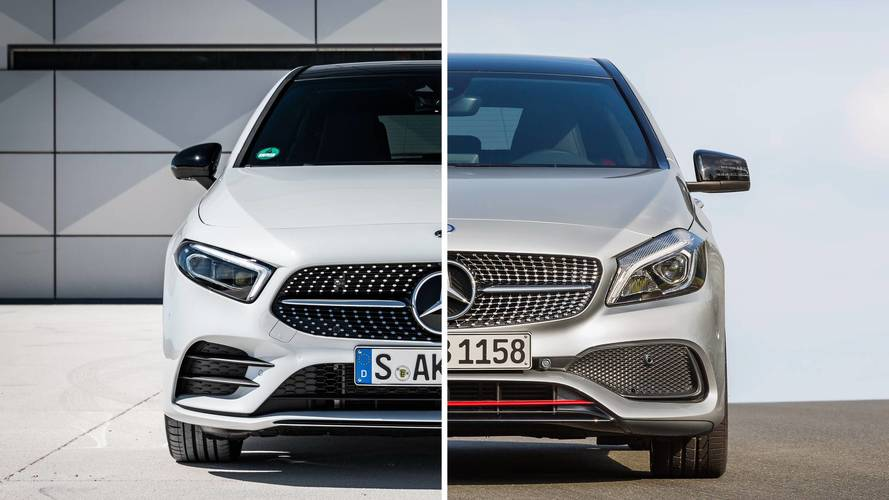 Mercedes Classe A, vecchia e nuova a confronto