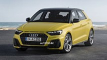 2019 Audi A1 Sportback official leaked images