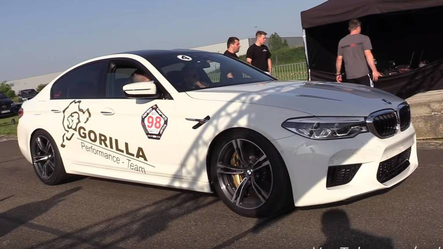 New BMW M5 Has Already Been Tuned To 720 HP And Drag Raced