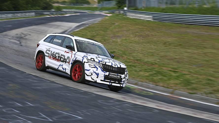 Skoda Kodiaq RS, Nürburgring'de 7 koltuklu SUV rekorunu kırdı