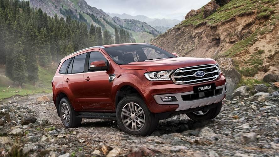 SUV da Ranger, Ford Everest também poderá ganhar versão Raptor