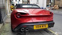 Aston Martin Vanquish Zagao Volante à Londres