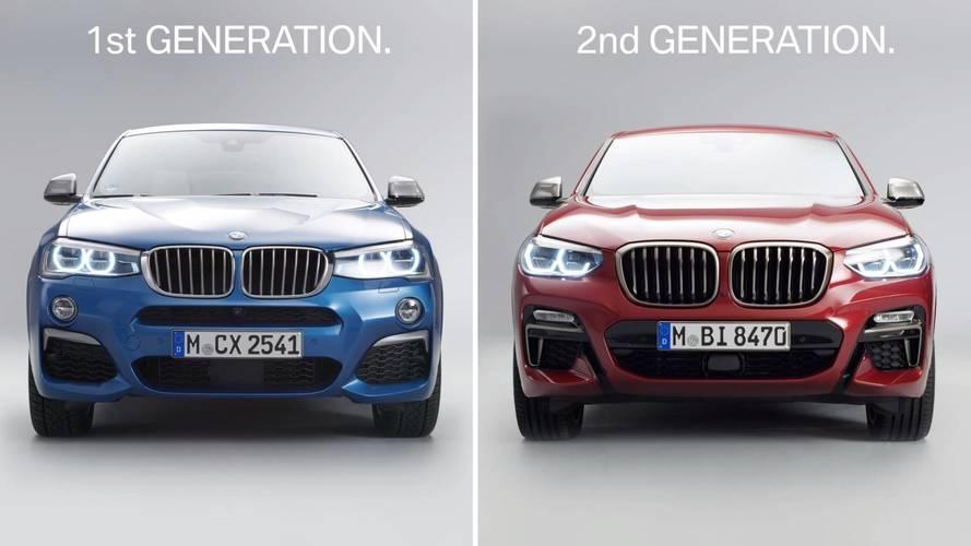 BMW X4 2018: ¿qué cambia frente a su antecesor?