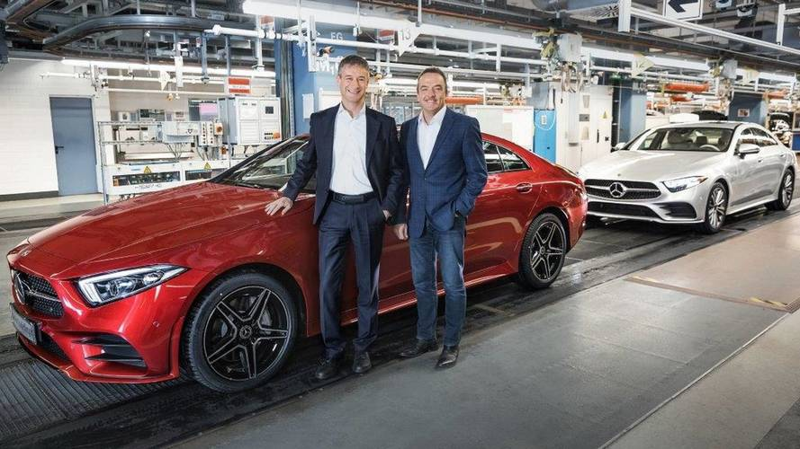 CLS Production Starts; Mercedes Says It Invented The 4-Door Coupe
