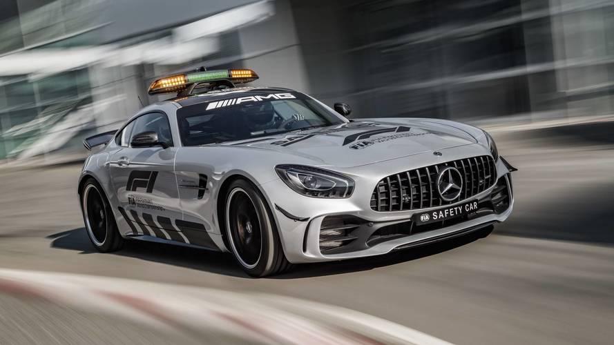 Mercedes-AMG GT R F1 tarihinin en güçlü güvenlik aracı olacak