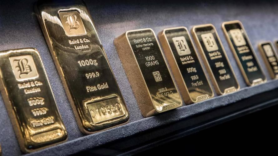Porsche Panamera transporta oro en Londres