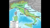 Le strade romane in Italia