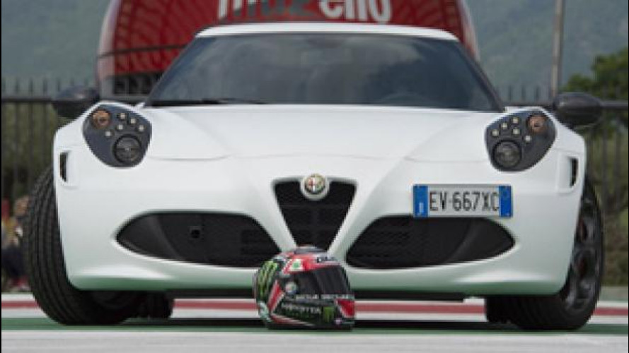Da Alfa Romeo un casco per Jorge Lorenzo