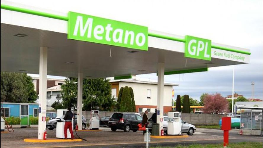 Metano e GPL al self service: dal 30 aprile, ma con