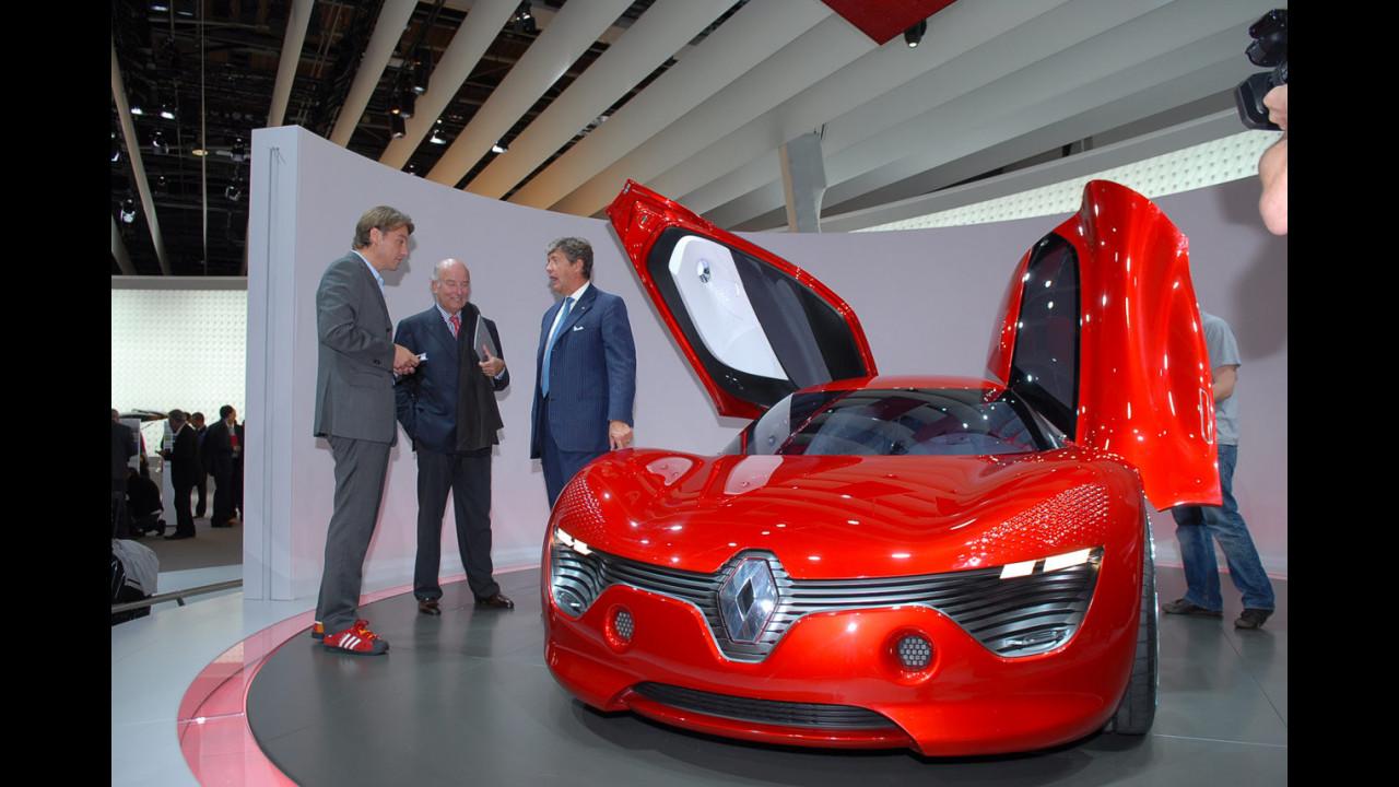 Renault DeZir concept al Salone di Parigi 2010