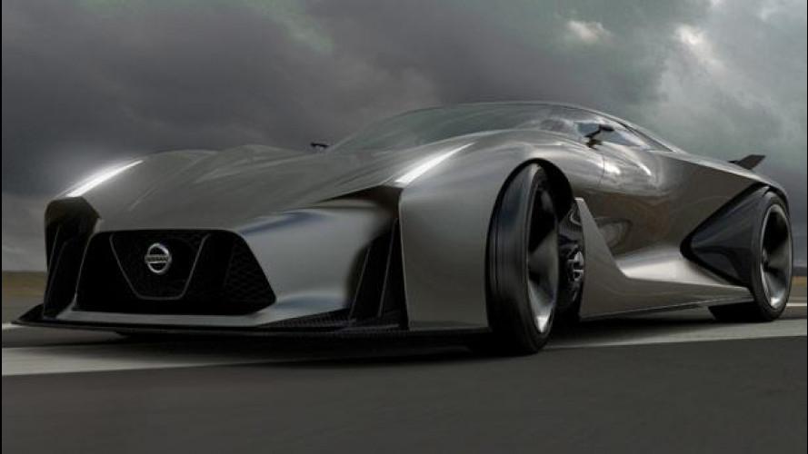 Nissan Concept 2020 Vision Gran Turismo, pronta a correre