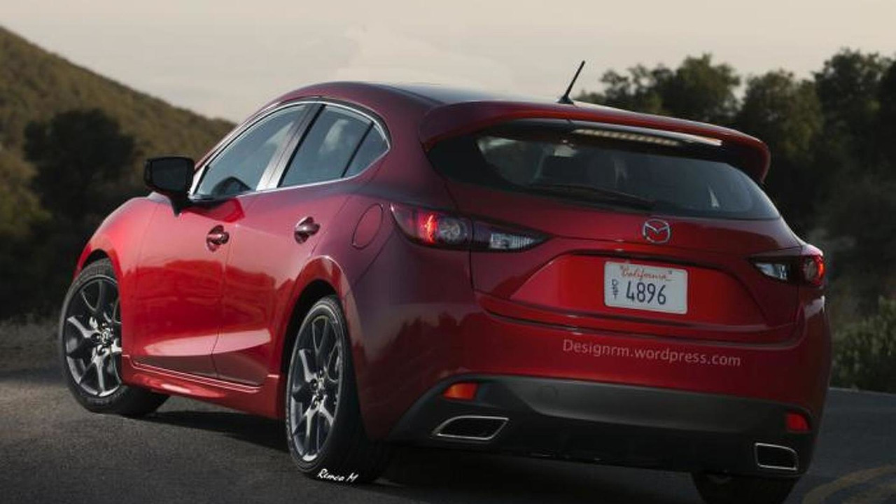 mazda3 mps coming in 2016 with 300 bhp all wheel drive. Black Bedroom Furniture Sets. Home Design Ideas