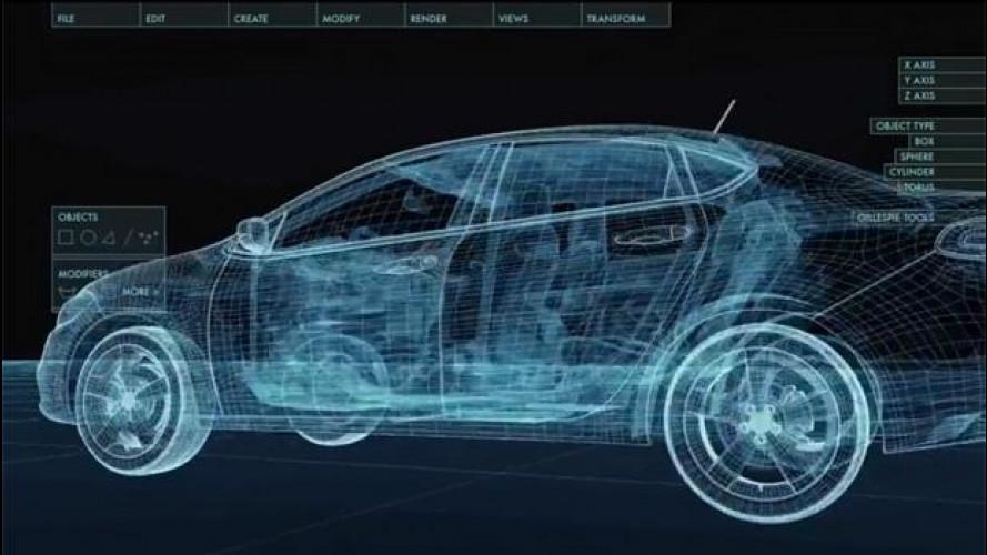 Come nasce una nuova auto, in un video