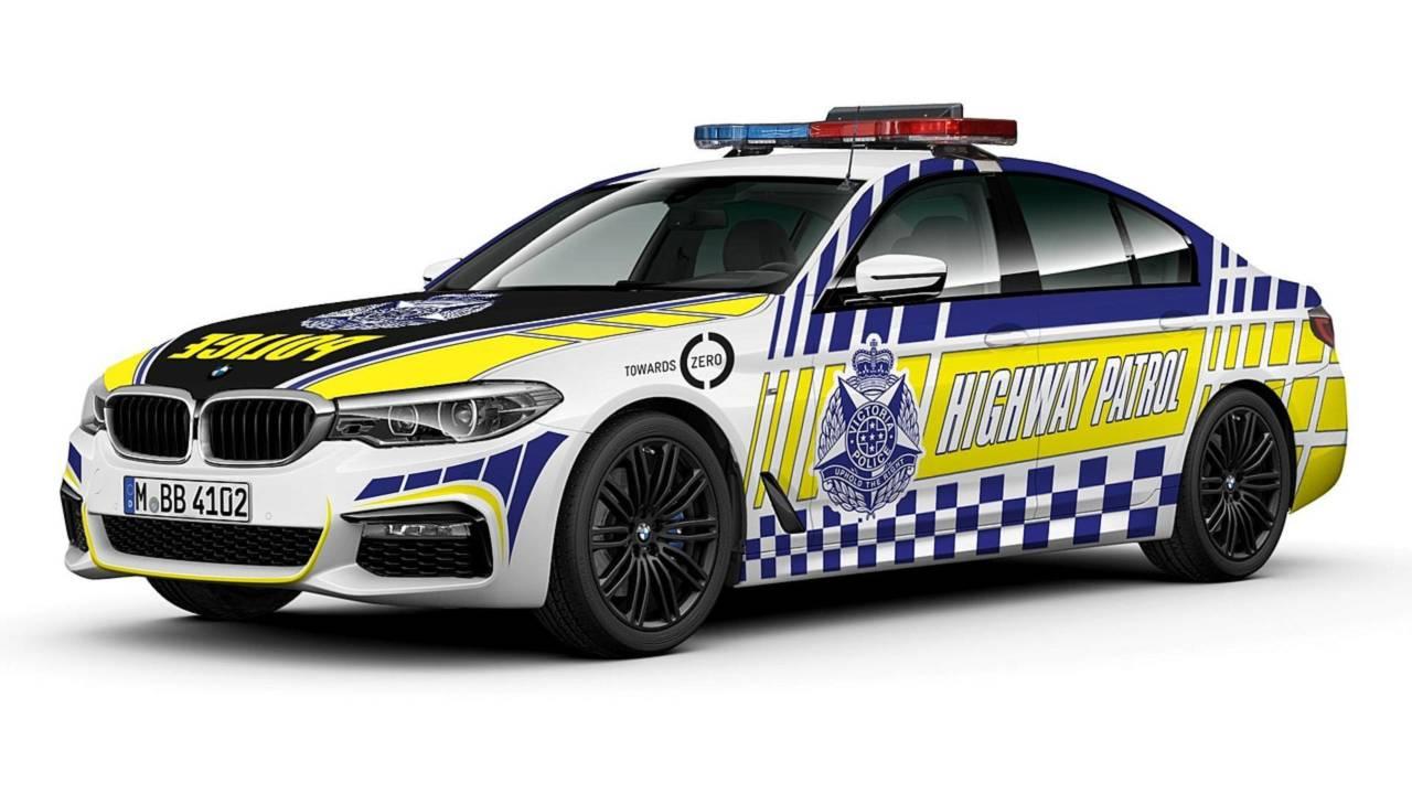 Полицейский автомобиль BMW 530d