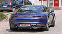 2019 Porsche 911 spied uncovered
