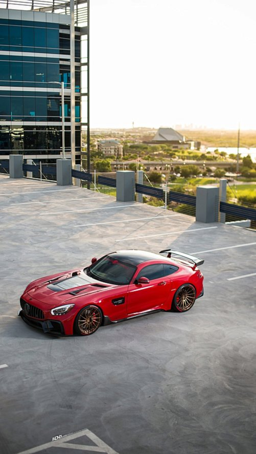 Creative Bespoke Modifiyeli Mercedes-AMG GT S