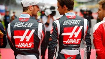 Romain Grosjean, Haas F1 Team VF-16, Esteban Gutierrez, Haas F1 Team VF-16