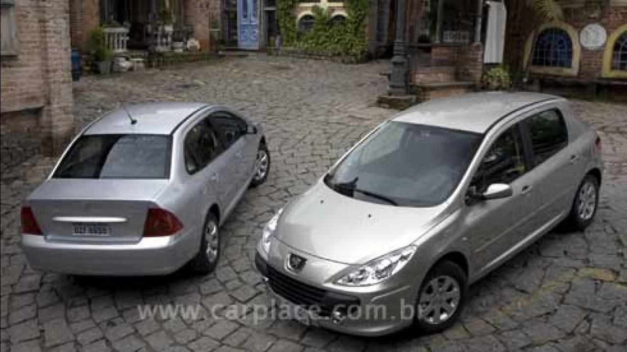 Linha 2009 do Peugeot 307 ganha motor 2.0 Flex e novos equipamentos