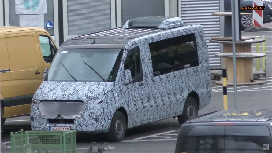 Mercedes Sprinter prototipleri kameralara yakalandı