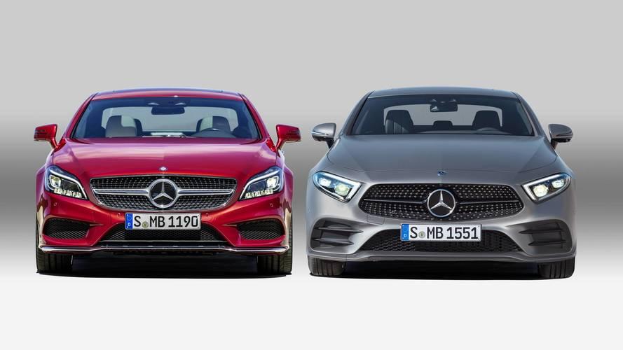Mercedes-Benz CLS 2018: así cambia frente al modelo anterior