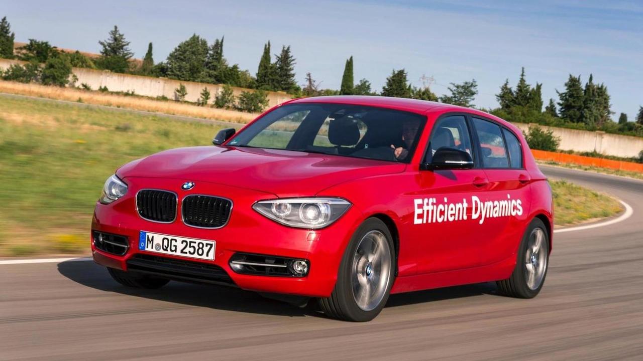 Direk su enjeksiyonlu BMW 1 Serisi prototipi
