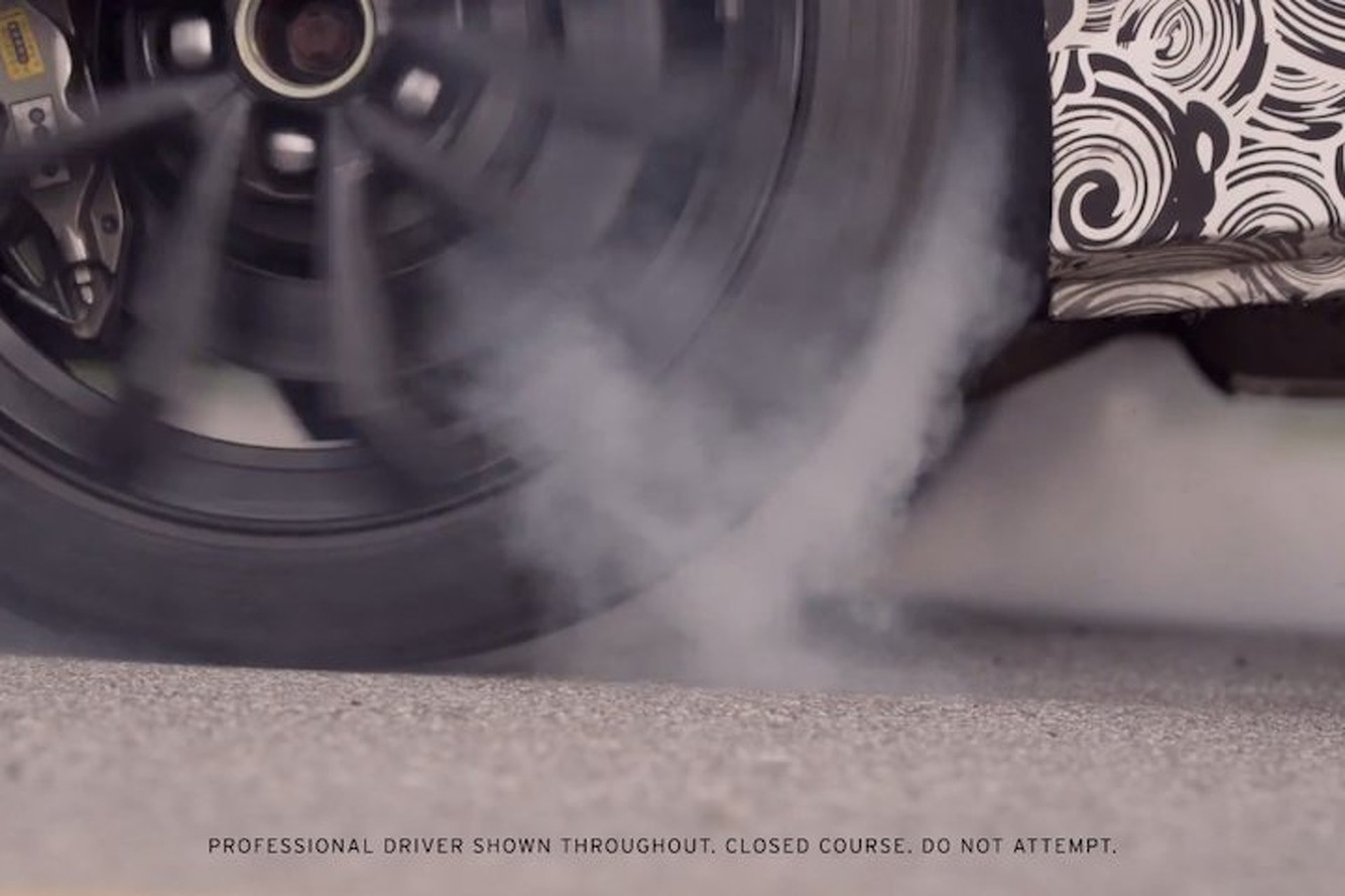 Watch the Cadillac ATS-V Coupe do a Sweet, Sweet Burnout