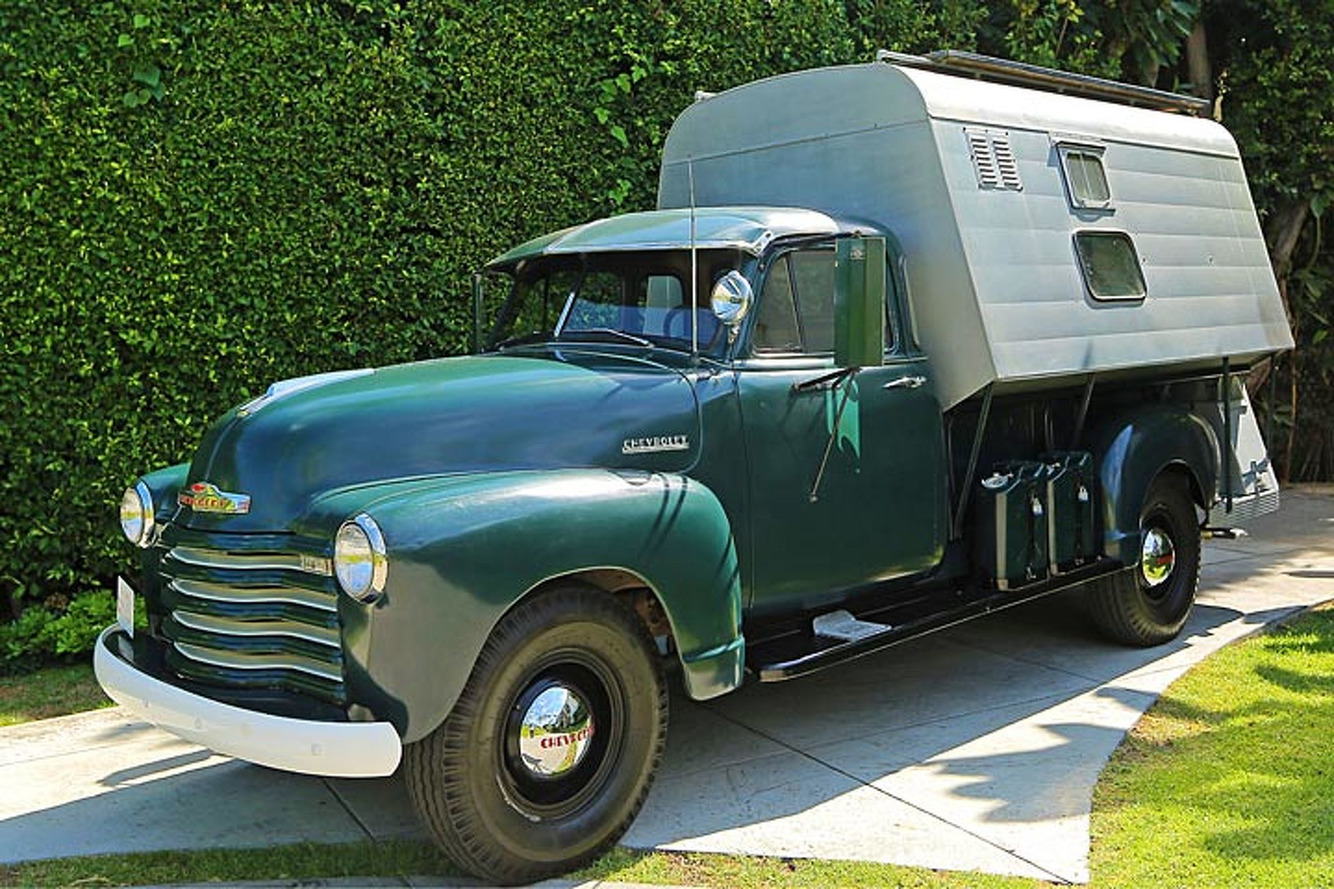Steve McQueen's Chevy Camper Tells an Interesting Story