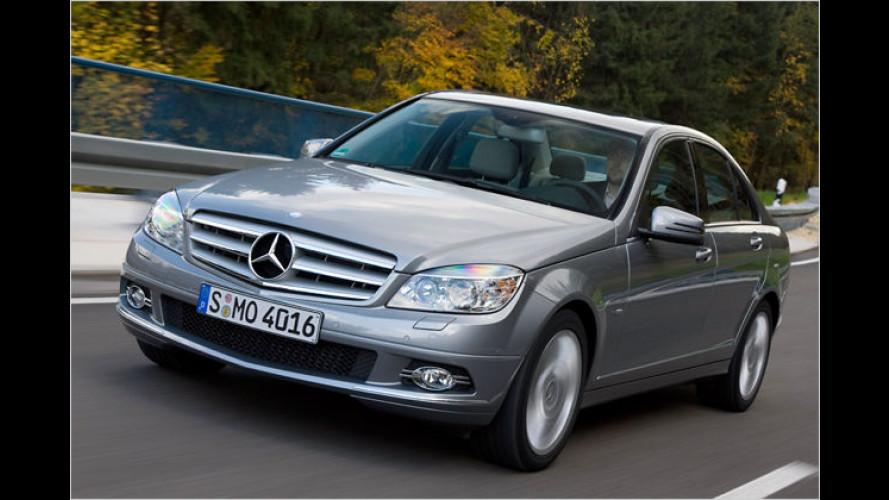 Geladene Gesellschaft: Der neue Mercedes C 250 CDI im Test