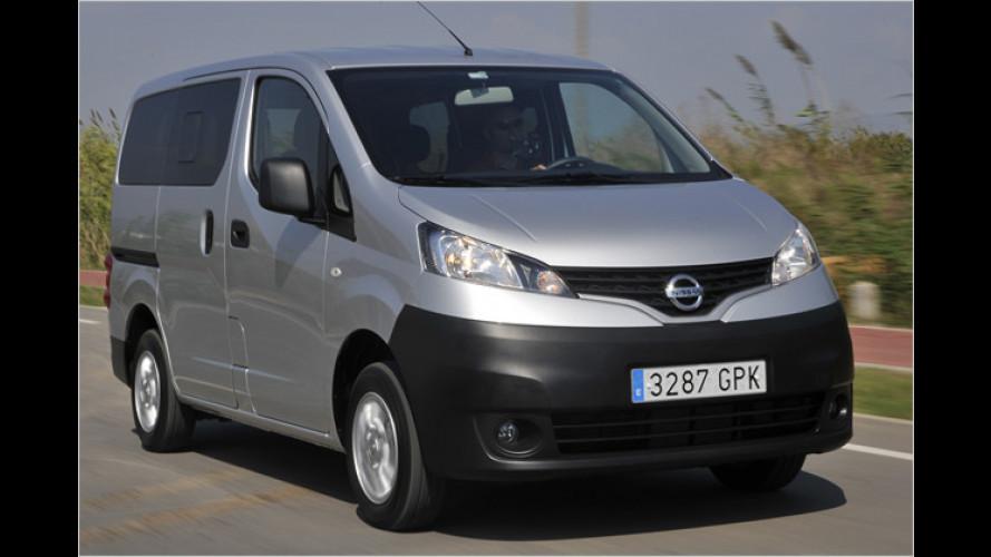 Nissan NV200: Transporter jetzt ab 15.589 Euro bestellbar
