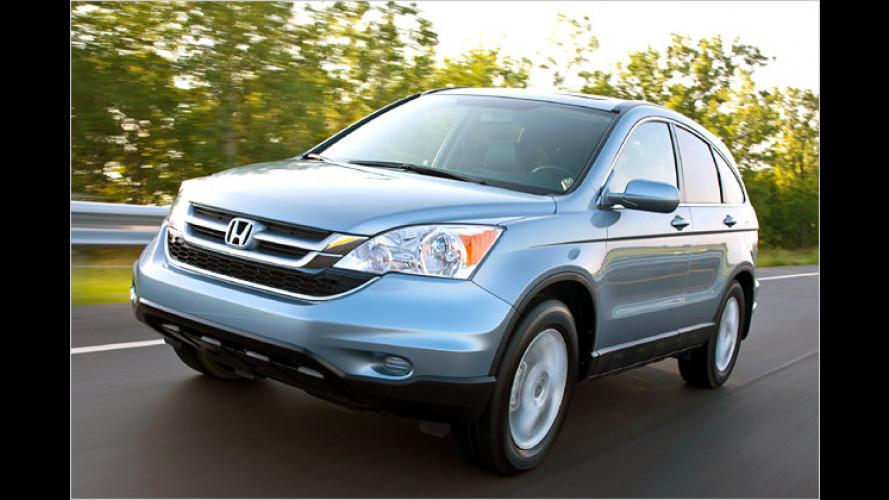 Dezente Auffrischung: Honda liftet den CR-V