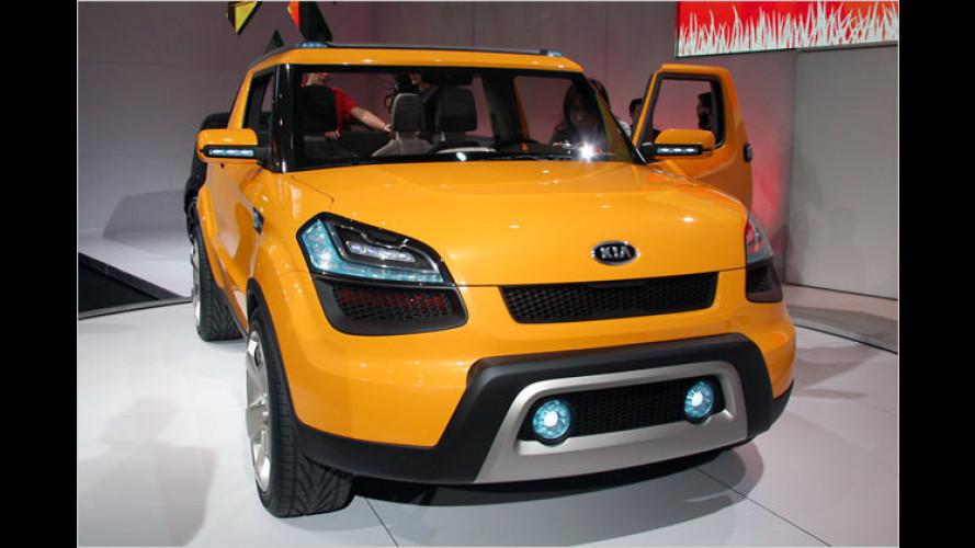 Kia Soul'ster: Ein Cabrio fürs winterliche Detroit